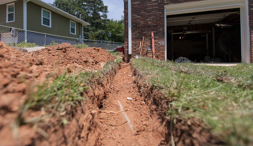 Grading Backyard Drainage 28 Images 9 Best Drainage Solutions With Cobble Streambeds Grading